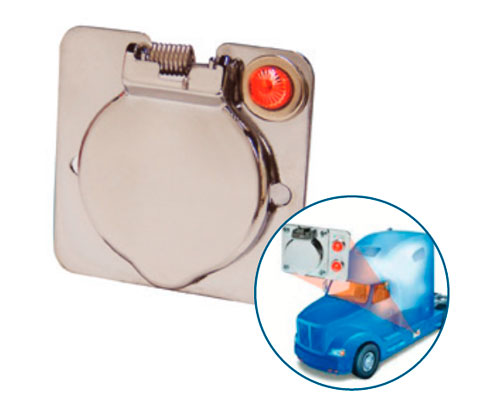engine block heater accessories, receptacles and indicator lights